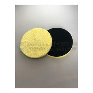 Круг для полировки микрофибровый AuTech Microfiber Pad, 150 мм. 2 штуки