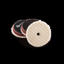Меховой круг стриженный AuTech с отверстием конусообразный, 100 мм