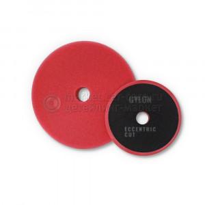 Круг полировальный средней жесткости, красный эксцентрик GYEON ECCENTRIC CUT, 80 мм уп 2 шт