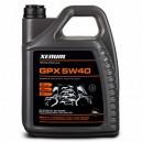Синтетическое моторное масло с графитом XENUM GPX 5w40 ACEA A3/B4-04 C3-12, API SN/CF, 5л