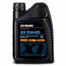 Синтетическое моторное масло с эстерами(10%) XENUM X1 5w40 ACEA A3/B4-04 C3-12, API SN/CF VW 502.00/505.00/505.01, 1л
