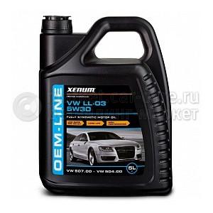 Синтетическое моторное масло XENUM OEM-Line VW/AUDI 5w30 ACEA C3, VW 504.00/507.00, 5л