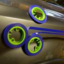 Комплект магнитных держателей The Fineline Kit Collision Edge для тонких маркировочных лент