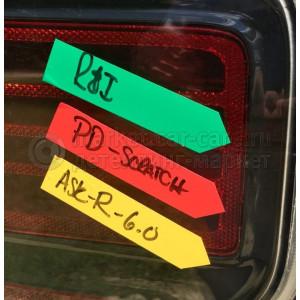 Маркировочная наклейка (стрелка) The MarkSafe Estimating Arrows Collision Edge цвет: зеленый - 150 стрелок в рулоне