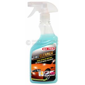 MA-FRA FAST CLEANER QUICK DETAILER - Экспресс-полироль с очищающим эффектом для автомобиля, лубрикант. 500 мл