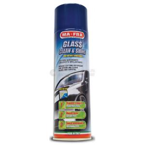 MA-FRA  GLASS CLEAN&SHINE (spray) ,очиститель стекол и  LCD экранов. 500 мл