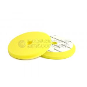 Сверхпрочный поролоновый полировальный диск Menzerna средней жесткости желтый, 130/150 мм