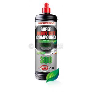 Высокоабразивная полировальная паста Menzerna Super Heavy Cut Compound 300 GREEN LINE, 1 kg
