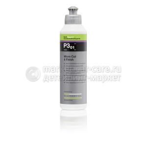 Микро-абразивная полировальная паста с воском карнаубы Koch Chemie Micro Cut & Finish P3.01.250мл