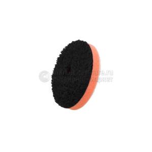 """75 мм ЧЕРНЫЙ  режущий (1-Step) микрофибровый диск FlexiPads / 75mm (3"""") DA BLACK Microfibre CUTTING Disc"""