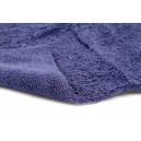Полотенце микрофибровое двухстороннее 40x40 с УЗ обрезкой, 400 гм2 (темно-синее)