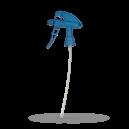 Распрыскиватель Kwazar Super с рычагом Vitron, синий