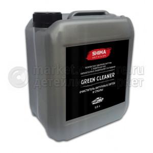 """SHIMA DETAILER  """"GREEN CLEANER""""  Очиститель битумных пятен и смолы 5 л"""