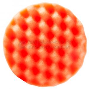 Полировальный диск Hanko жесткий оранжевый (рифленый), 150х25мм