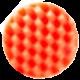 Полировальный диск Hanko средней жесткости оранжевый (рифленый), 150х25мм