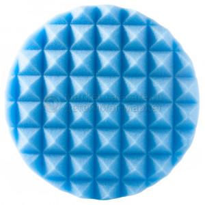 Полировальный диск Hanko средней жесткости голубой (пирамидка), 150х25мм