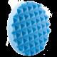 Полировальный диск Hanko мягкий голубой (пирамидка), 150х25мм