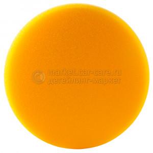 Полировальный диск Hanko средней жесткости желтый (гладкий), 150х25мм