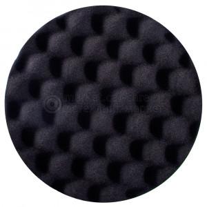 Полировальный диск Hanko финишный черный (рифленый) 150x30мм