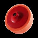 Полировальный диск Hanko средней жесткости оранжевый (гладкий), 150х50мм