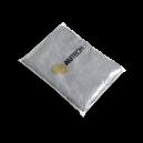 Микрофибра салфетка AueTech PROFI-MICROFASERTUCH  30*30 см, серая, без оверлока, 280гр, уп-ка 10 шт.