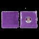 Микрофибра односторонняя без краев LERATON PURPLE HAZE MF9 40x40