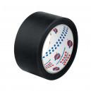 Маскирующая лента (малярный скотч) Eurocel 80°С-30 мин черная, 19 мм