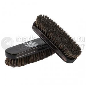 Щетка для чистки кожи из натуральной щетины LERATON BR3
