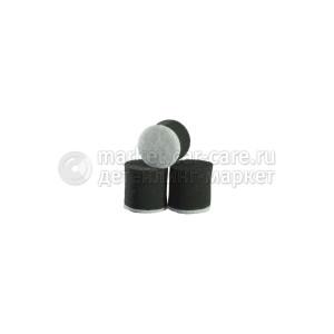 Круг для полировки - поролон 30*30 чёрный