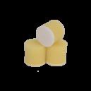 Круг для полировки - поролон 50*30 жёлтый