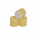 Круг для полировки - поролон 30*30 жёлтый