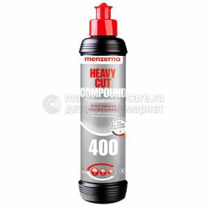 Одношаговая  крупнозернистая полировальная паста Menzerna Heavy Cut Compound 400 (FG400),  0.25л
