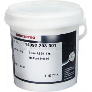 Высокоабразивная полировальная паста Menzerna AS30, 1кг