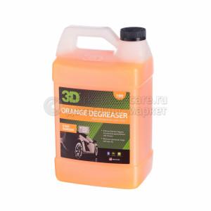 """Обезжириватель """"апельсин"""" 3D ORANGE CITRUS DEGREASER, 3,78л"""