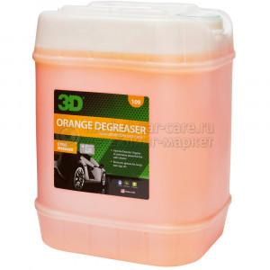 """Обезжириватель """"апельсин"""" 3D ORANGE CITRUS DEGREASER, 18,93л"""