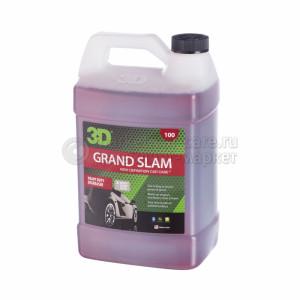 Обезжириватель (концентрат) 3D GRAND SLAM чистка от масла, 3,78л
