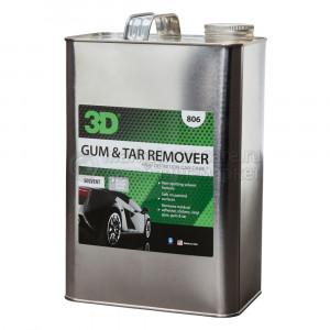 Растворитель, очиститель от битума, смолы и дегтя 3D GUM-TAR REMOVER, 3,78л
