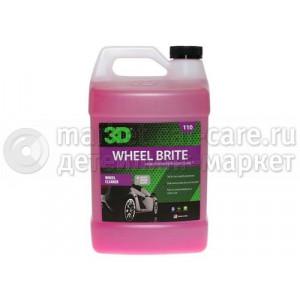 Чистящее средство для колес (концентрат) 3D WHEEL BRIGHT, 3,78л