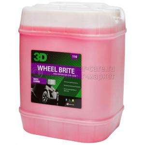 Чистящее средство для колес (концентрат) 3D WHEEL BRIGHT, 18,93л
