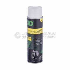 Чистящее средство для обивочной ткани и ковров (пена) 3D CARPET & UPHOLSTERY CLEANER, 539г.