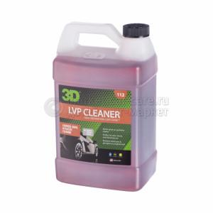 Очиститель для кожи, винила и пластика 3D LVP CLEANER, 3,78л