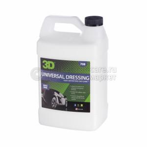 Универсальный Dressing с маленьким количеством содержания силикона 3D UNIVERSAL DRESSING, 3,78л
