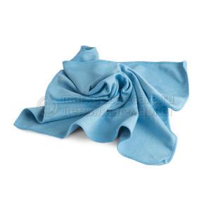 Салфетка AuTech для стекол, 40х40 см. голубая