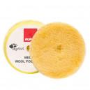 Диск полировальный Rupes из натуральной овчины желтый средней жесткости 150мм.