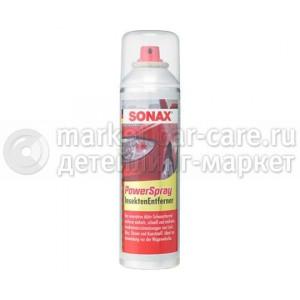 Пенный очиститель следов насекомых SONAX PowerSpray Insect Remover.