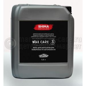 "Консервирующий воск SHIMA DETAILER ""WAX CARE"", 5л."