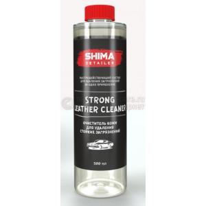"""SHIMA DETAILER  """"STRONG LEATHER CLEANER""""  Очиститель кожи для удаления стойких загрязнений.500мл"""