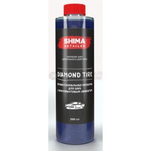 """SHIMA DETAILER  """"DIAMOND TIRE""""  Профессиональная пропитка для шин с бриллиантовым эффектом.500мл"""
