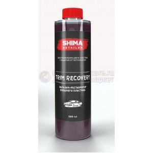 """SHIMA DETAILER  """"TRIM RECOVERY""""  Бальзам-реставратор внешнего пластика.500мл"""