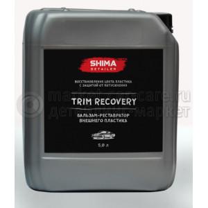 """SHIMA DETAILER """"TRIM RECOVERY"""" Бальзам-реставратор внешнего пластика, 5л."""
